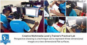 Creative Multimedia Level 3 Trainee's Practical Lab